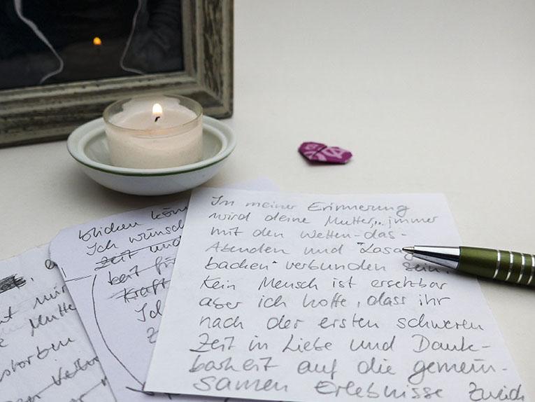 So schreibst du eine persönliche Trauerkarte – meine-Schritt-für-Schritt-Anleitung