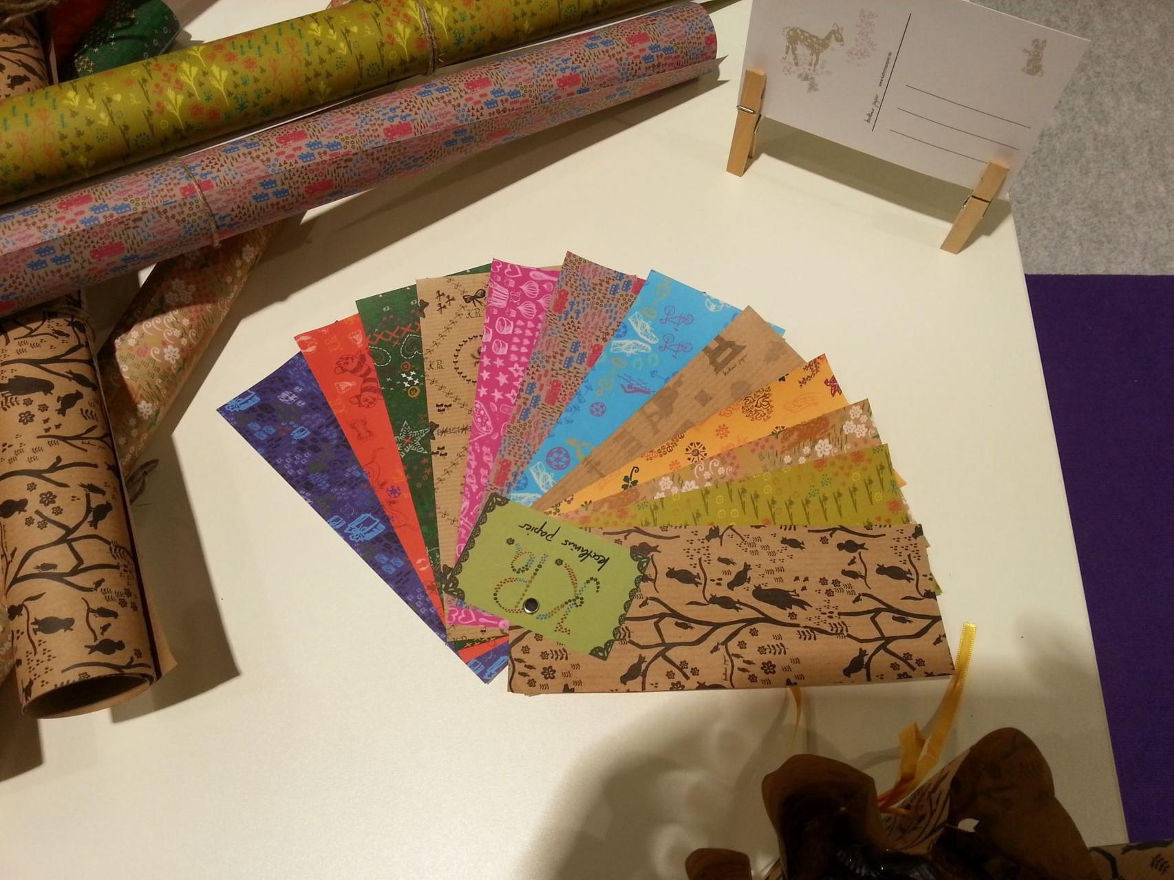 Kathrins Papier Papierfächer Paperworld 2014