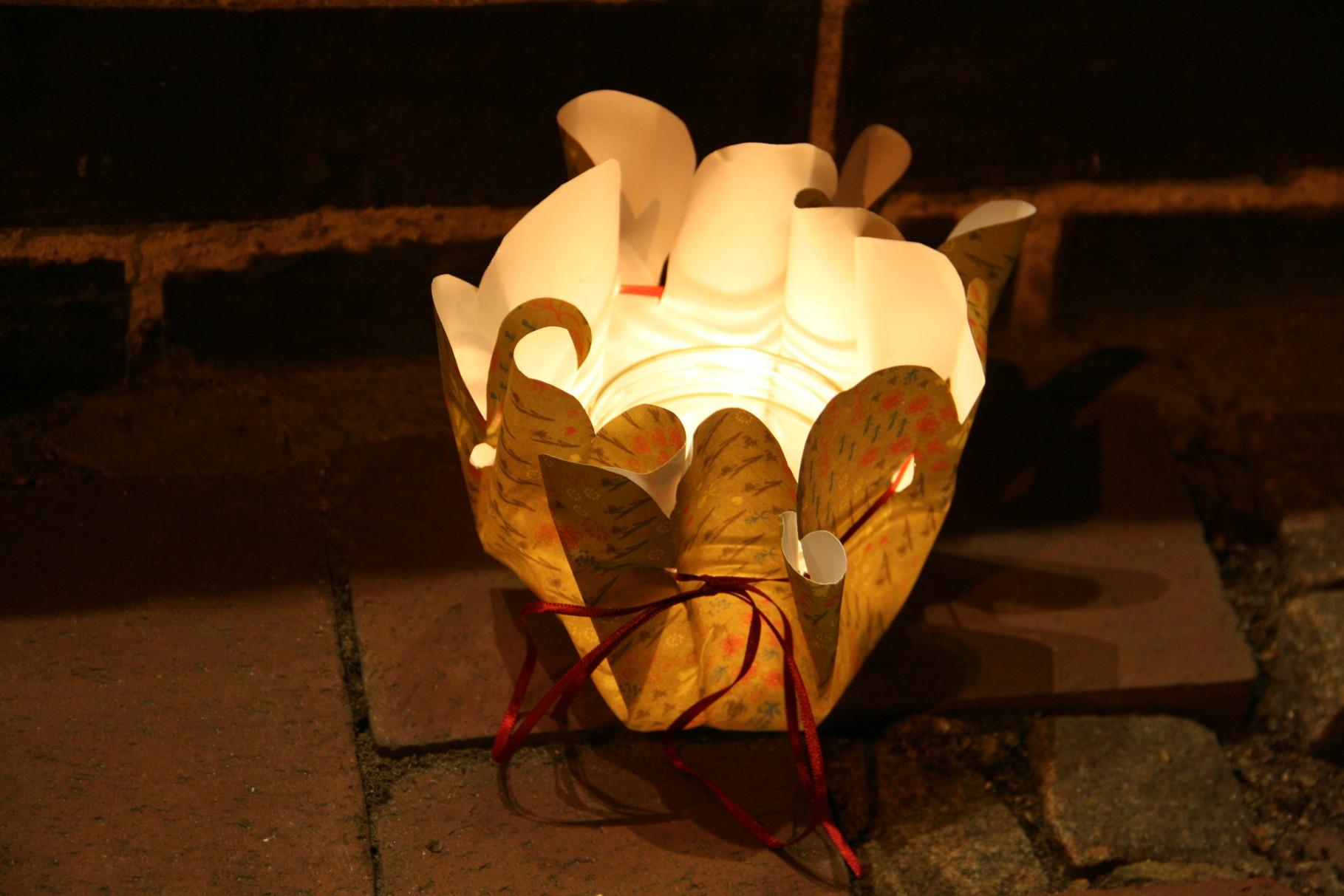 Kathrins Papier Blumenmanschette