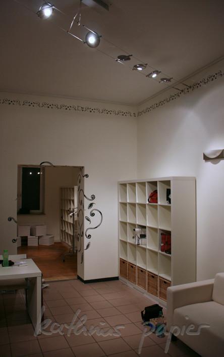 Kathrins Papier - Bordüre allover - der ganze Laden ist fertig
