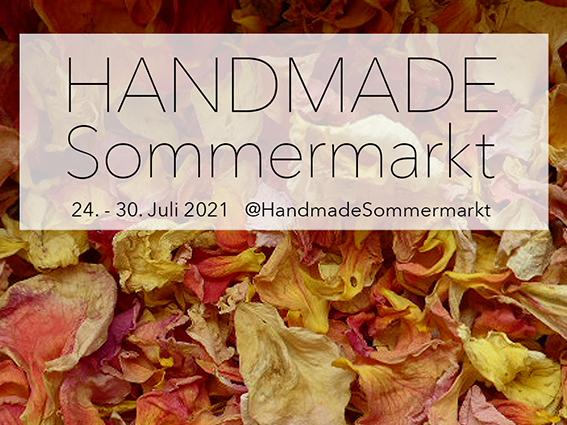Handmade Sommermarkt - der kreative Onlinemarkt