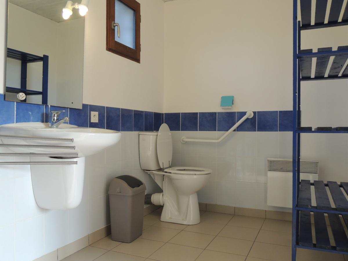 Salle de douche Tourisme Handicap