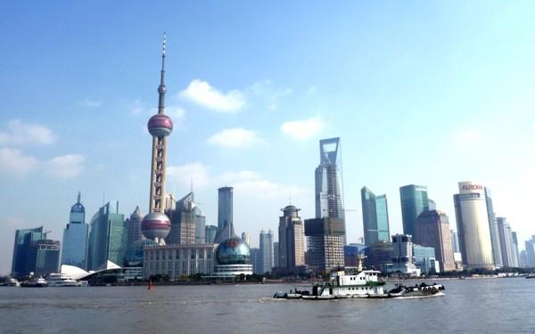 アジア最大の経済都市、上海。そのイメージを体現する陸家嘴経済開発区。