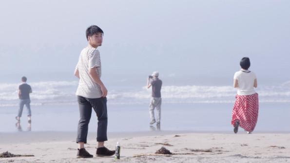 思い思いに海と語らう瞬間。産土神との出会い。