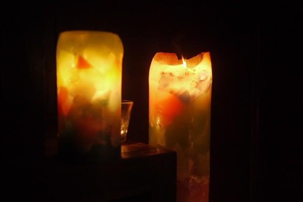 ただぼんやりと光を眺めるだけで、何かが溶け出すような不思議な充足感が得られる。