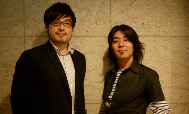 比佐健太郎(左)とユアサミズキ(右)。