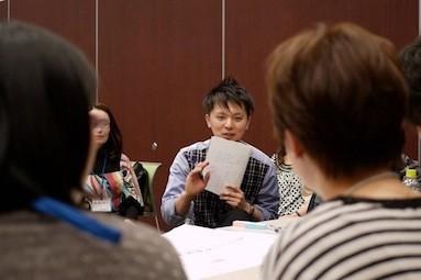 2010年12月に行われたイベント。西丸はファシリテーターとして参加。