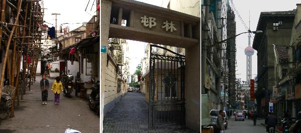 老上海と呼ばれる、ローカルな町並み。筆者はこちらのほうの上海に、価値を見いだした。