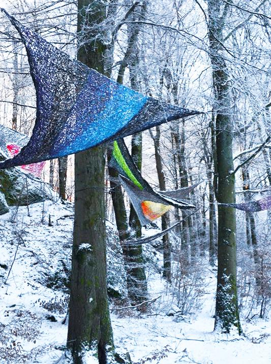 Edith Meusnier  Nolhaga Park  Alingsas  Suède  hiver 2016