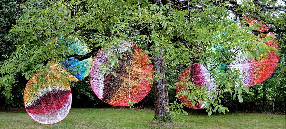"""Edith Meusnier, EFFETS FACTICES , """" Entremets"""",   Saint Mexant,    été 2010"""