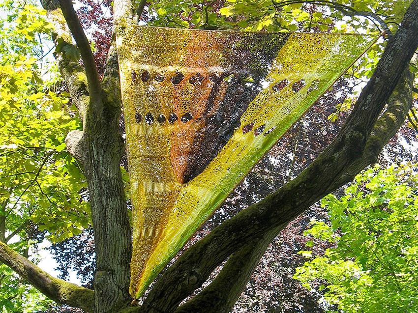 ENTRE PARENTHESE,     l'Art dans les Jardins,    Metz,     de mai 2014 à mars 2015