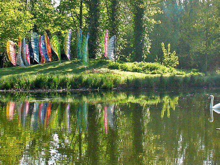 ECLOSION,     Jardin Mosaïc,    Houplin-Ancoisne,  de mai à novembre 2015