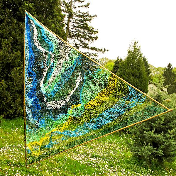 En Contrepoint,  Aumont,   Spring 2012,  detail