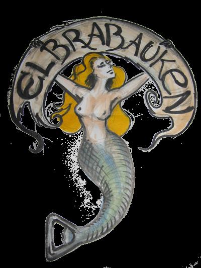 Logo Elbrabauken, der coolste Herrenclub aus Hamburg