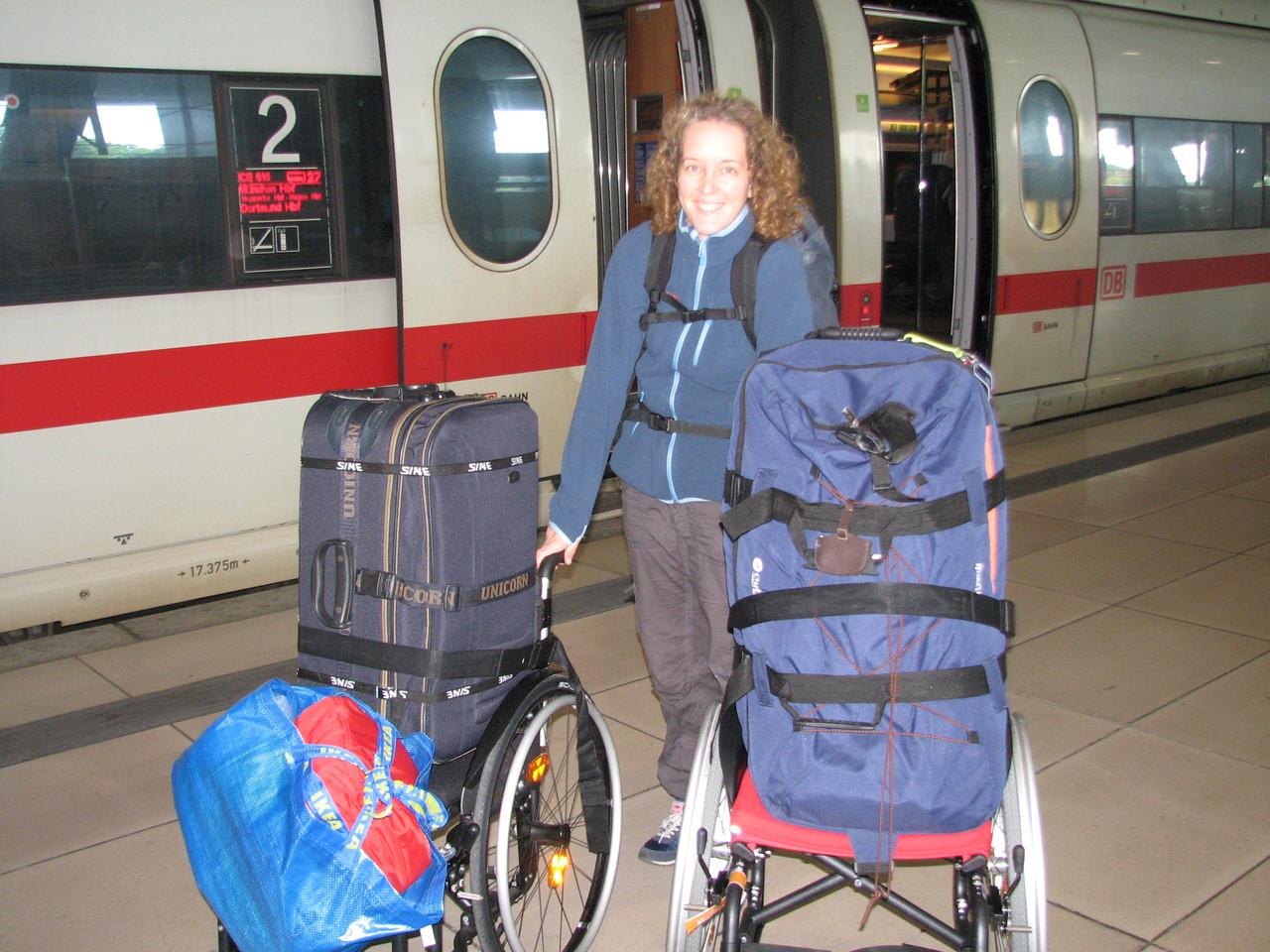 Zwei Rollis auf dem Weg von Ulm nach Frankfurt Flughafen