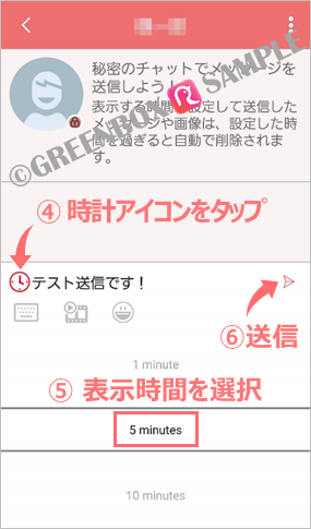 ロビンチャット-消えるメッセージ/ROBIN