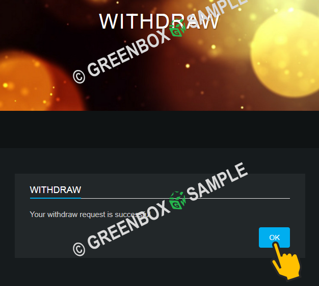 EXCHANG HONGKONG - WITHDRAW