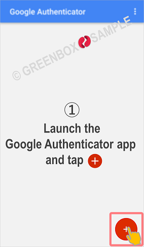 Google Authenticator - When QR can not be scanned - GreenBoxWallet