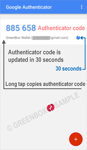 How to Google Authenticator - authentication code