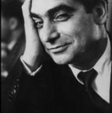 Robert Capa photographed by Ruth Orkin. www.magnumphotos.com