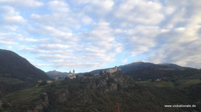 Ganz früh am Morgen, auf dem Weg von Südtirol nach Mittenwald zum 2. Konzert