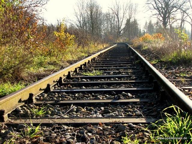 Stillgelegte Eisenbahnstrecke