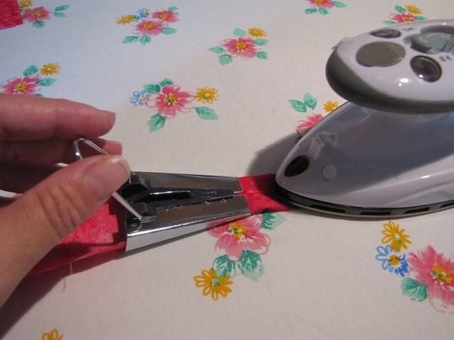 Daraus Schrägbänder bügeln