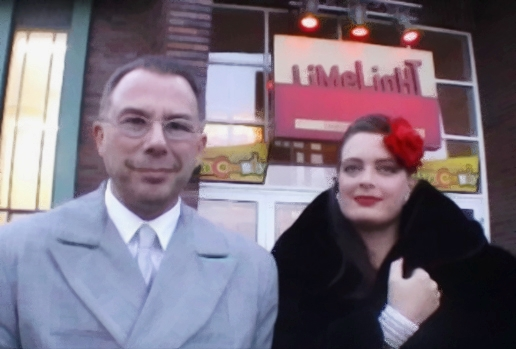 Peter Fleischhauer (Ltg. KING OF SWING ORCHESTRA) und ANNA LARSEN vocal | SWING-PARTY LIMELIGHT, Cologne (Köln)