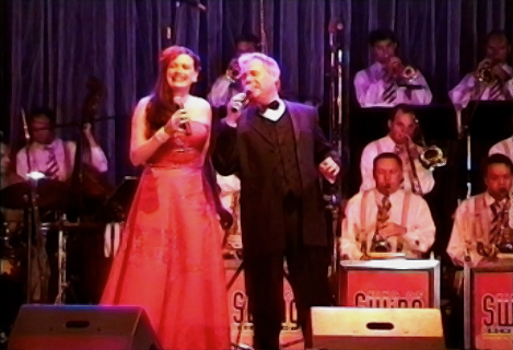 ANNA LARSEN und Tony Daniels, Swing-Party Limelight cologne