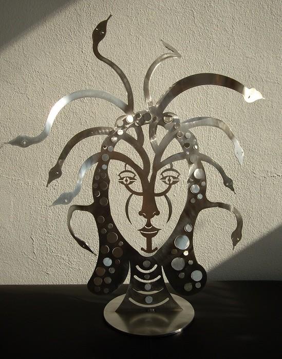 Edelstahlskulpturen