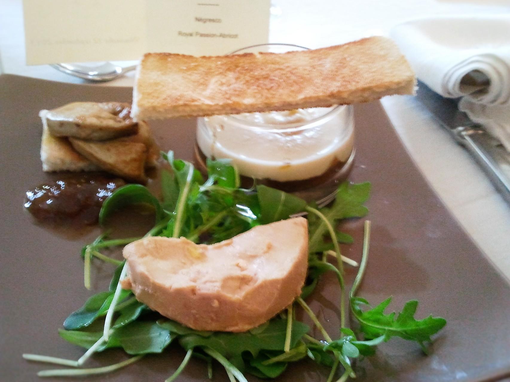 Déclinaison de foie gras