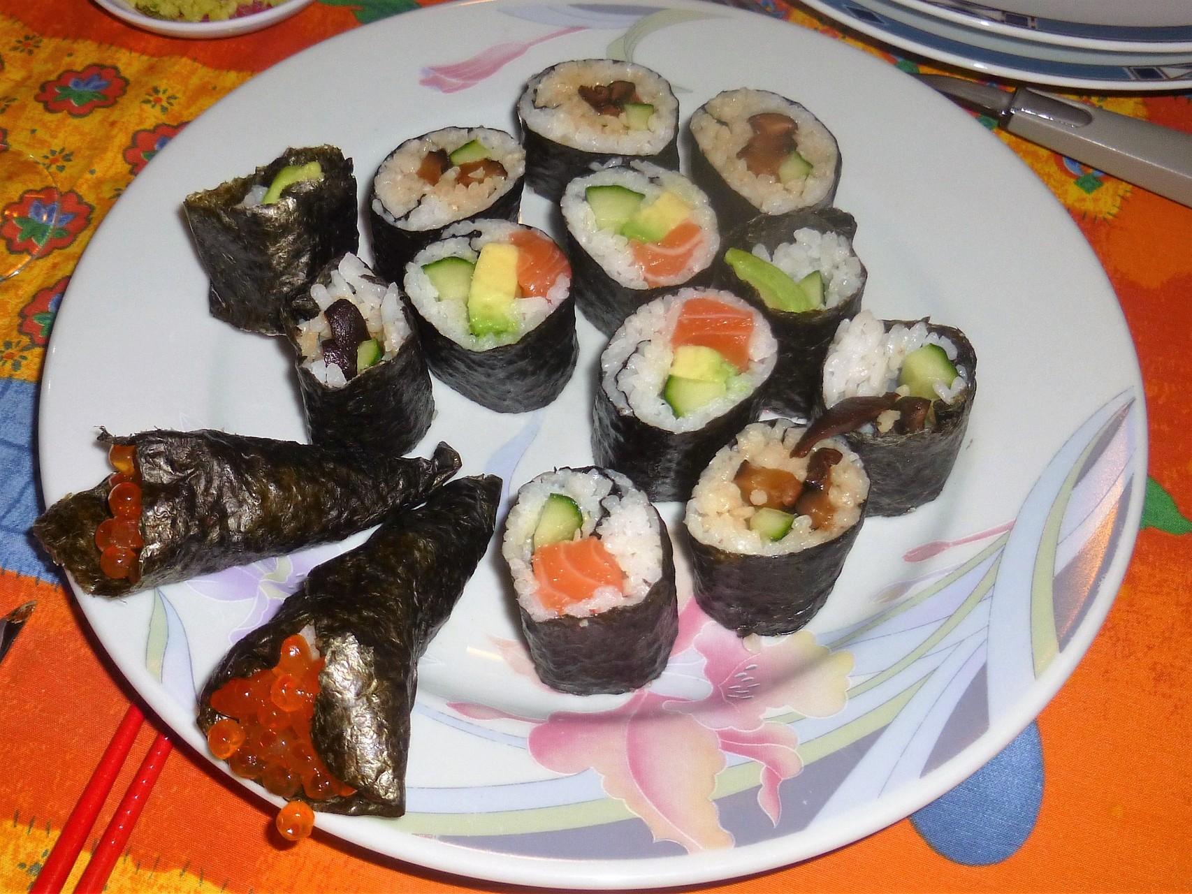 Nos sushis