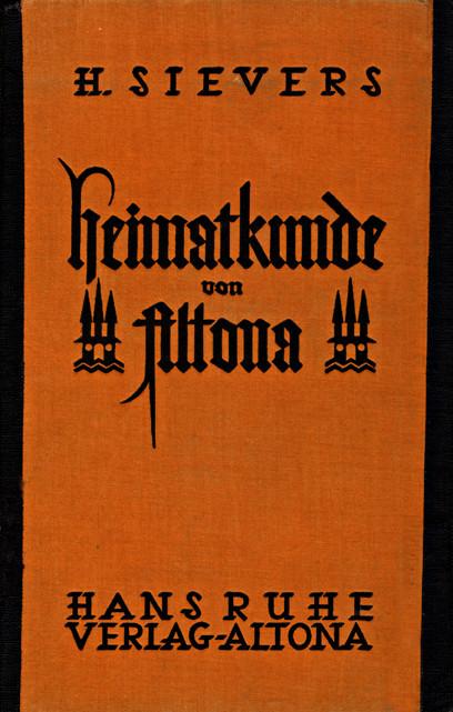 Titelseite des letzten Altonaer Schulbuchs , welches 1926 veröffentlicht wurde (c)