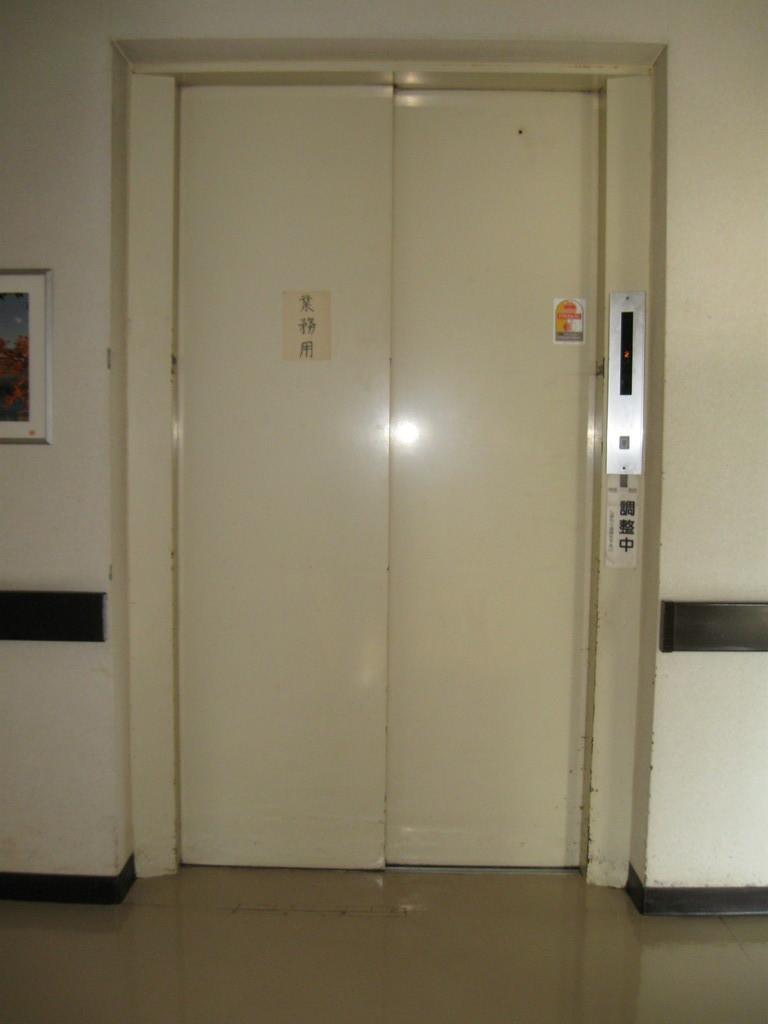 エレベーターのメンテナンス