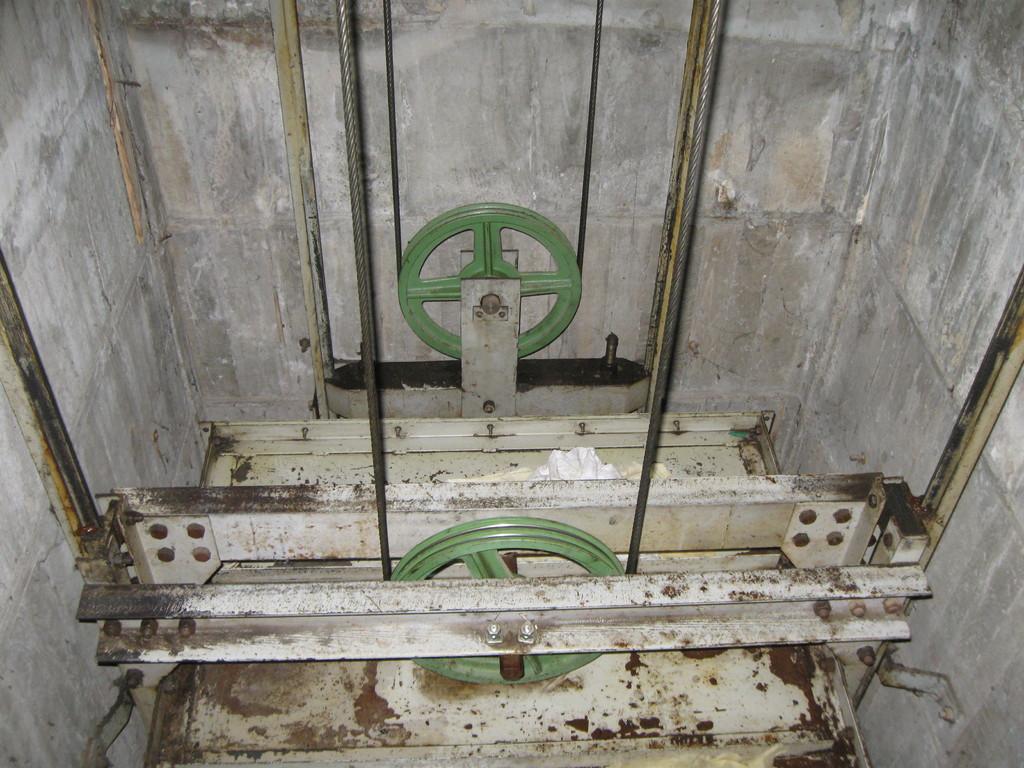 塔内環境及びかご上のチェック1