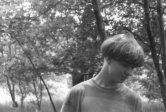 """Frosty 1, Pure 'Aspidistra' 7"""" - 91年リバプール大聖堂の裏の窪地にて、マッシュルームなグレアム君"""