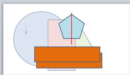 左右中央揃えのガイド用オブジェクトを追加