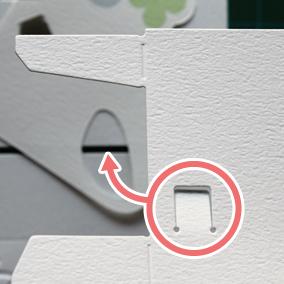席札の組み立て説明