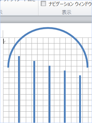 グリッド線を表示