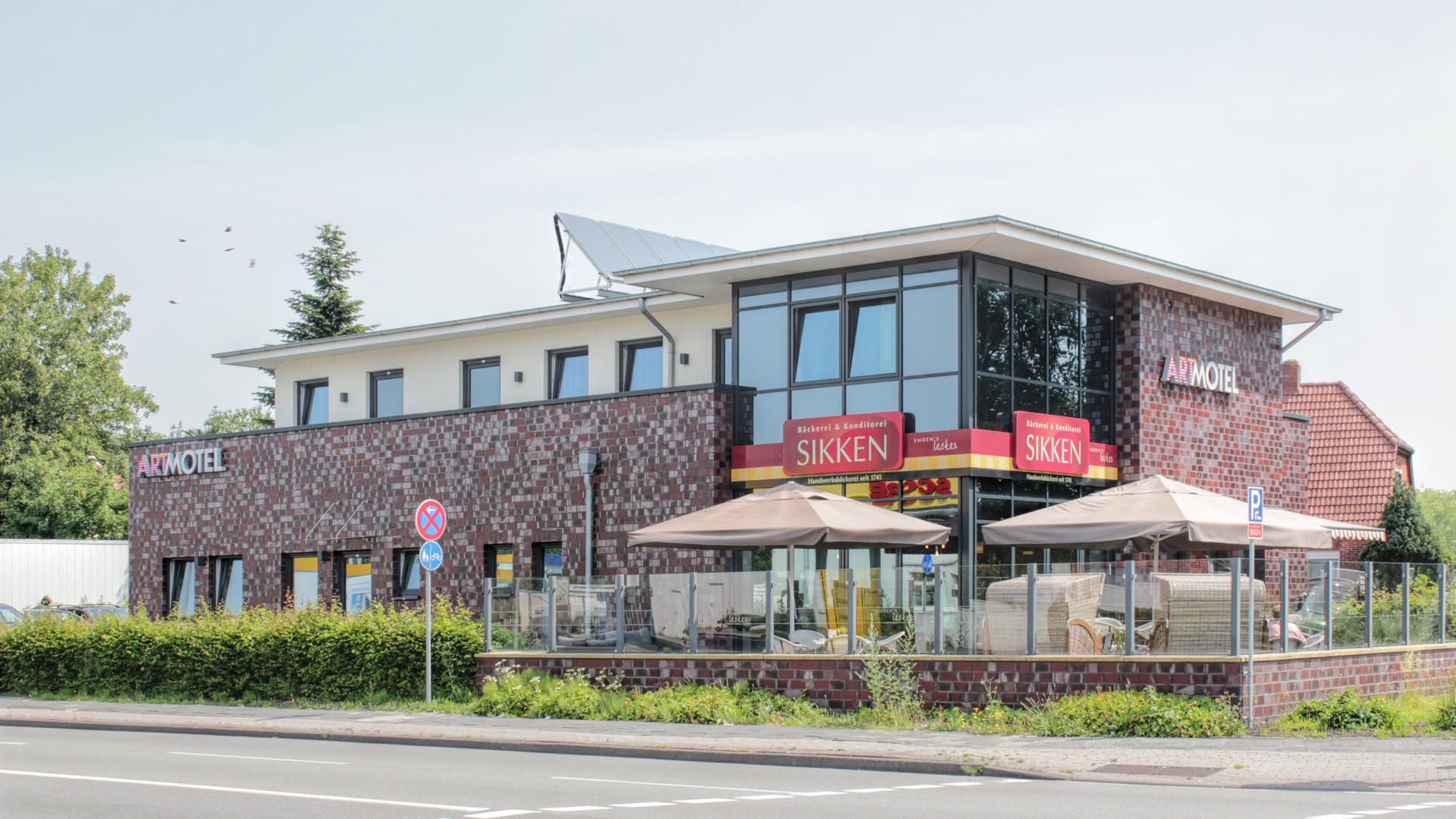 Neubau - Motel - Emden - 2014