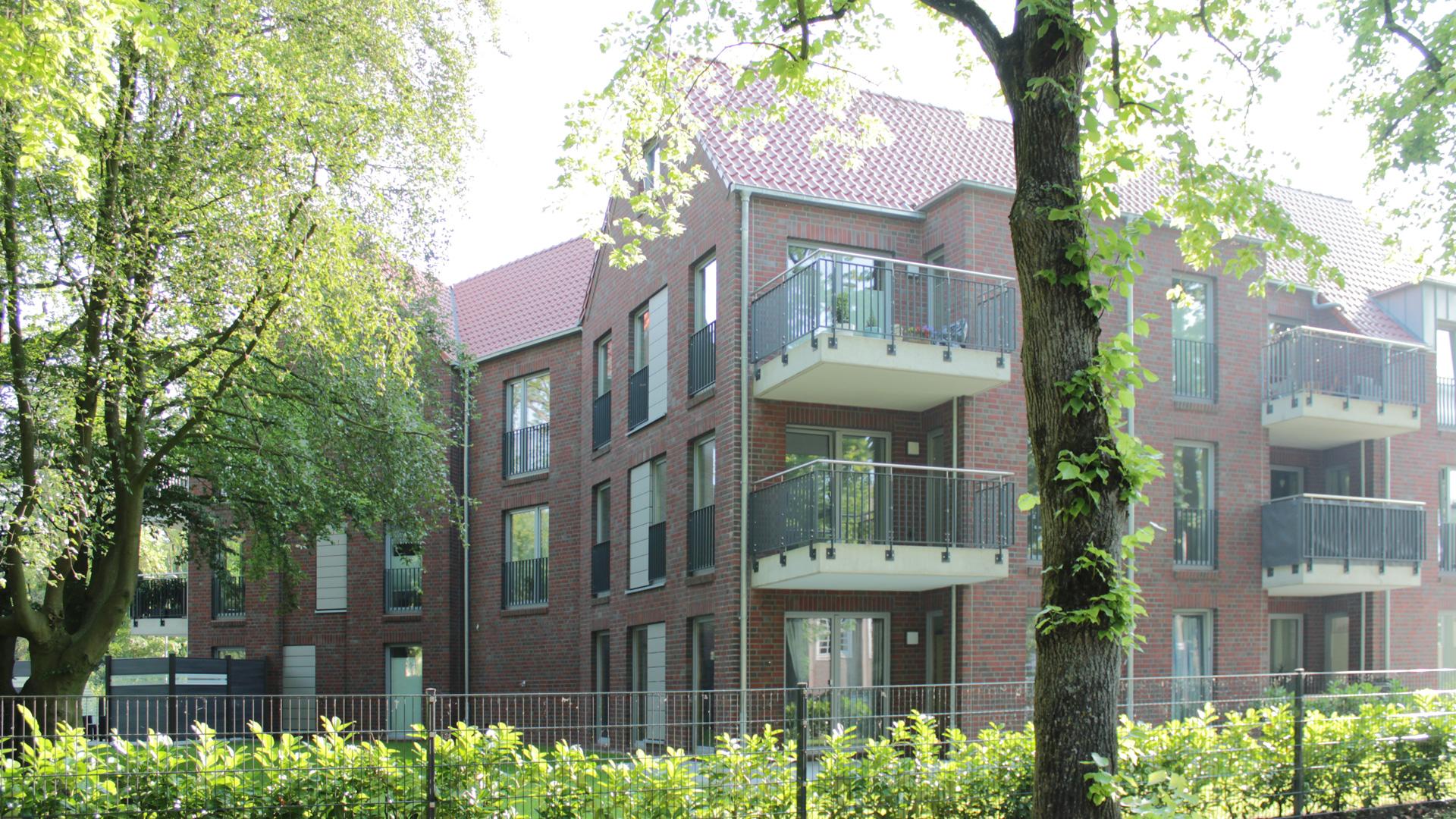 Neubau - Mehrfamilienhaus - Emden - 2017/2018