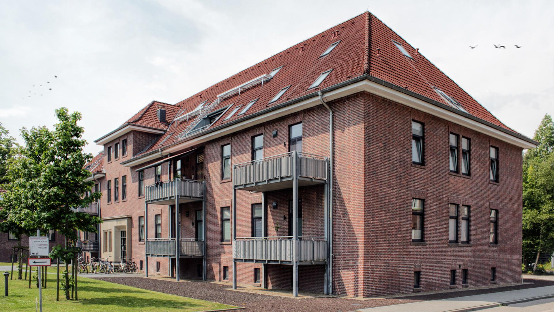 Umbau/Sanierung - Wohnungen Kaserne - Emden - 2013/2014