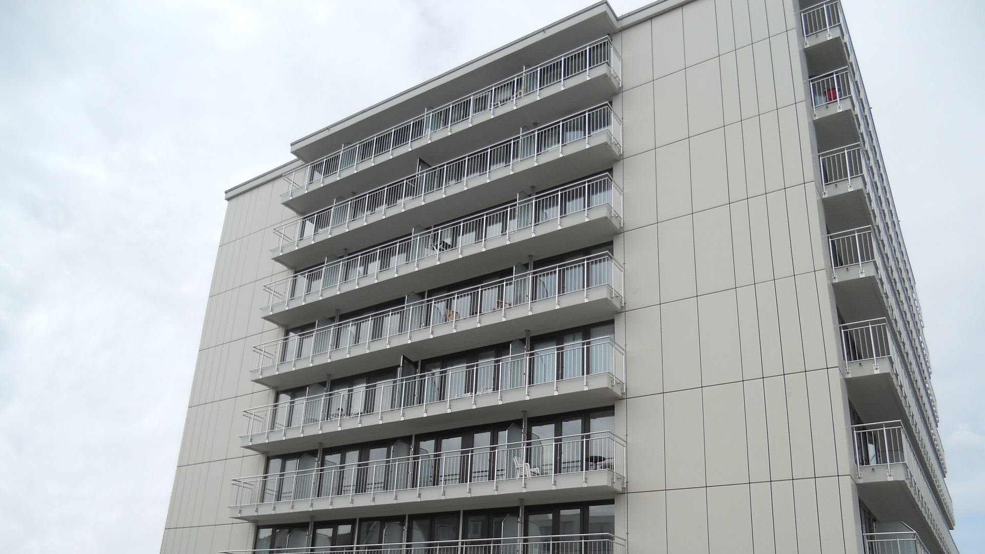 Fassadensanierung - Kaiserhof Hotel  - Norderney - 2016/2017