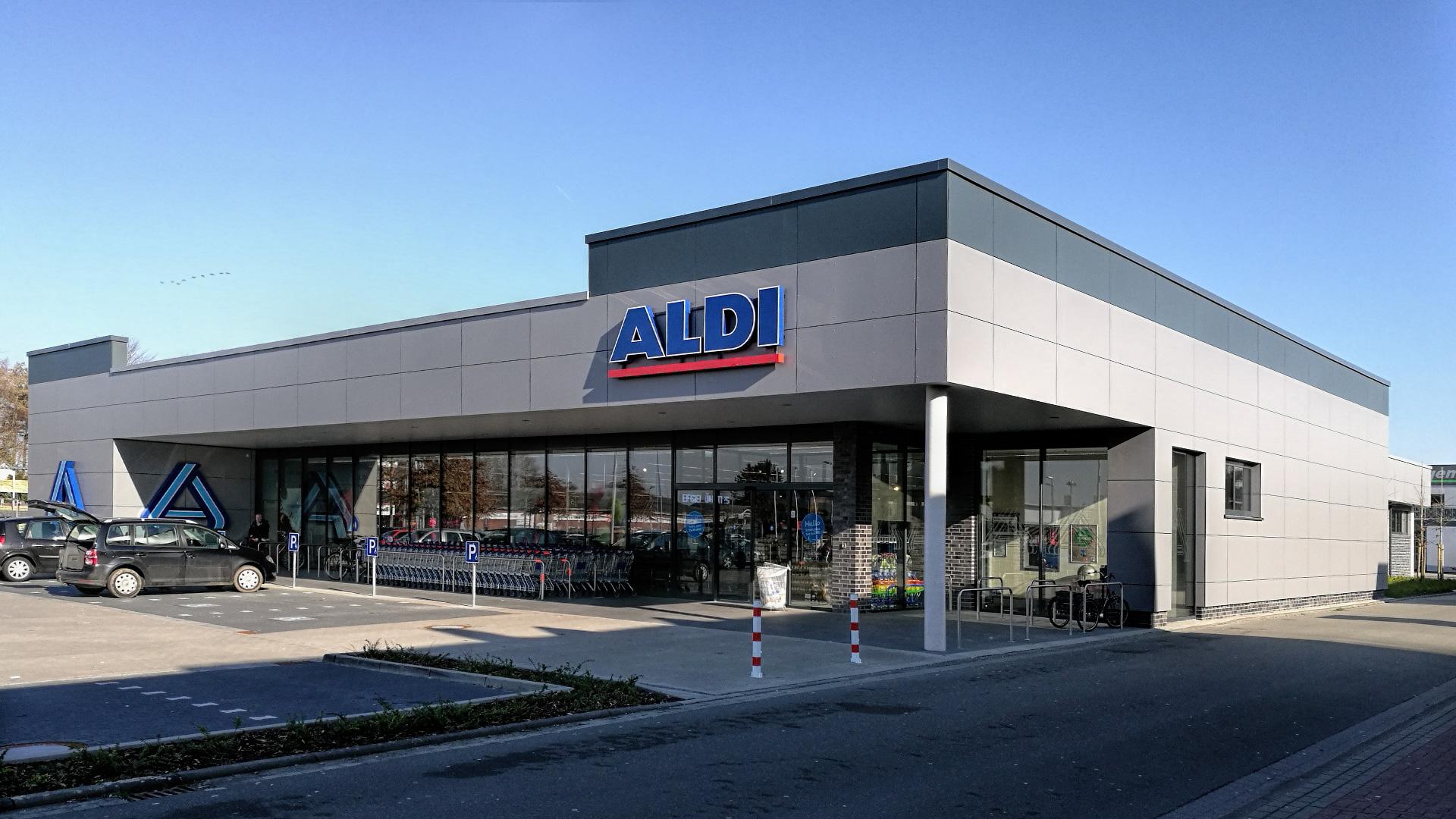 Neubau - Aldi Verbrauchermarkt - Friesoythe - 2018