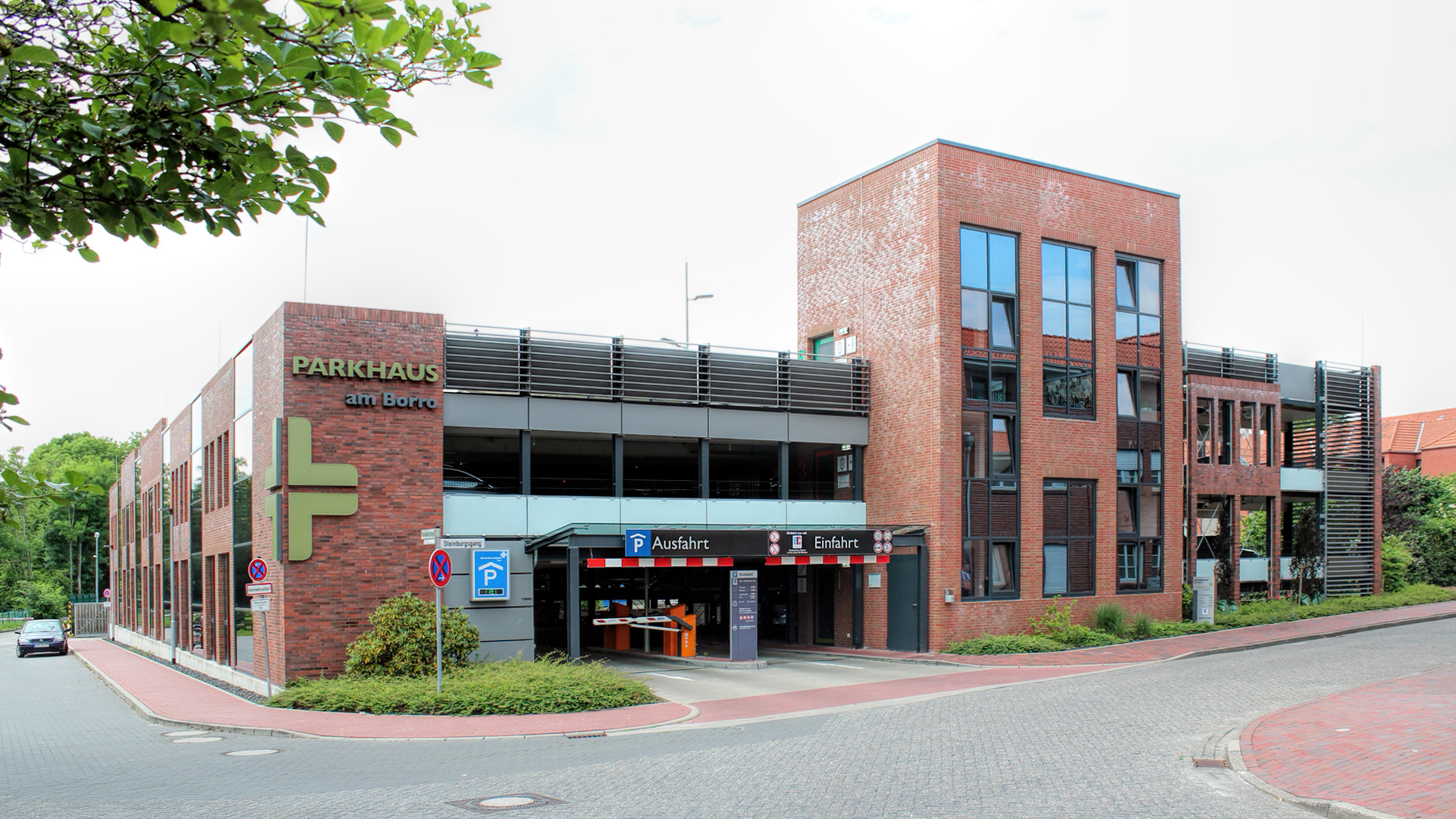 Neubau - Borro Parkhaus - Leer - 2017/2018