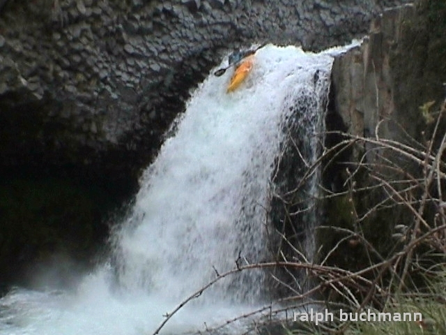 chute de bourges, wasserfall auf dem Bourges...