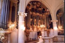 Die Orgel der Trinitatiskathedrale zu Libau