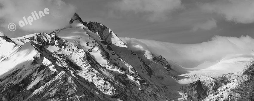 GrGroßglockner bei Heiligenblut in Kärnten, Nationalpark Hohe Tauernoßglockner in Kärnten, Nationalpark Hohe Tauern