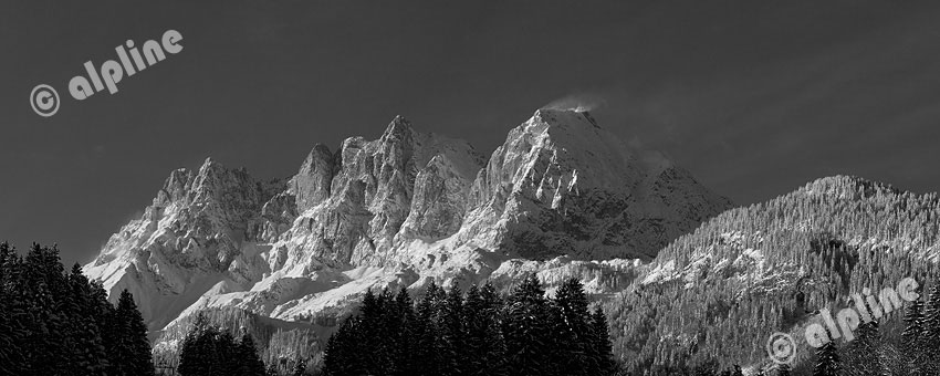 Kaisergebirge bei Kitzbühel, Tirol
