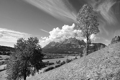 Tirol, Region Kitzbühel-St. Johann: Das Kaisergebirge bei St.Johann/T